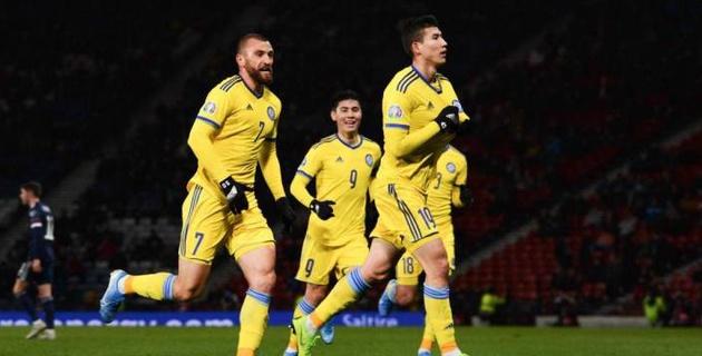 Стало известно расписание матчей сборной Казахстана по футболу во второй Лиге наций