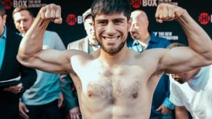 Казахстанец из карда Головкина получил соперника с 65 боями для дебюта в новом весе
