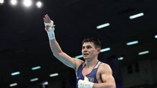 Вице-чемпион Азии принес Казахстану первую победу в отборе на Олимпиаду-2020