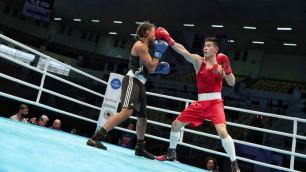 Чемпион мира по боксу из Казахстана Нурдаулетов прокомментировал победу на старте отбора на Олимпиаду-2020