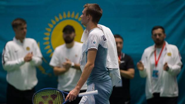 Бублик принес Казахстану первую победу в матче Кубка Дэвиса с Нидерландами