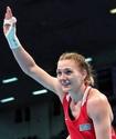 """""""Я чемпион, и это мотивирует"""". Казахстанская боксерша - о первой победе в отборе к ОИ-2020"""
