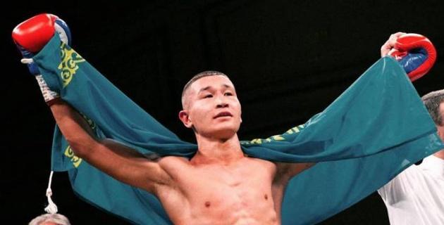 Казахстанский боксер выиграл нокаутом в первом раунде и продлил победную серию в профи
