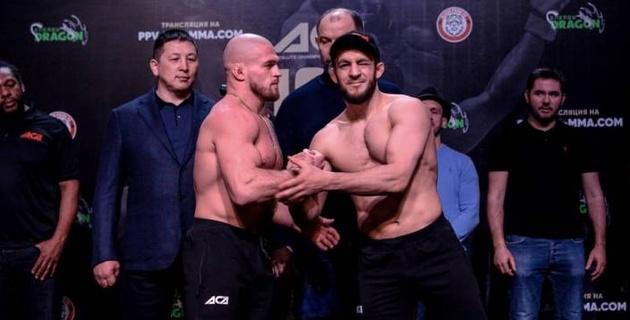 Казахстанские бойцы прокомментировали свои победы в первом раунде на ACA 105