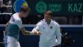 Казахстан досрочно обыграл Нидерланды и пробился в финальную стадию Кубка Дэвиса