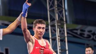 Чемпион мира Кайрат Ералиев вышел в финал боксерского турнира в Финляндии