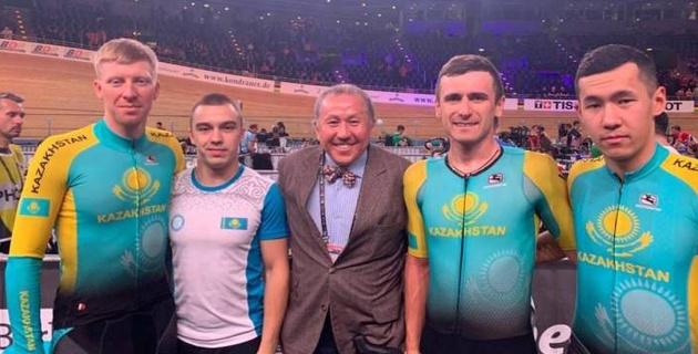 Казахстанские велогонщики завоевали семь лицензий на Олимпиаду-2020