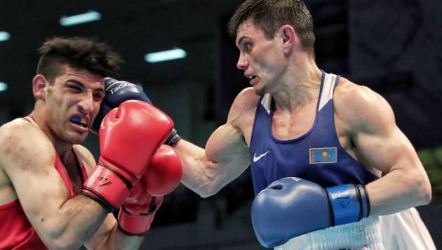 Первый боксер из Казахстана вышел в финал отбора на Олимпиаду-2020