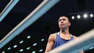 Казахстанский боксер Жусупов проиграл бой за выход в финал отбора на Олимпиаду-2020