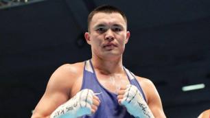 Капитан сборной Казахстана по боксу объяснил невыход на полуфинальный бой в отборе к ОИ-2020