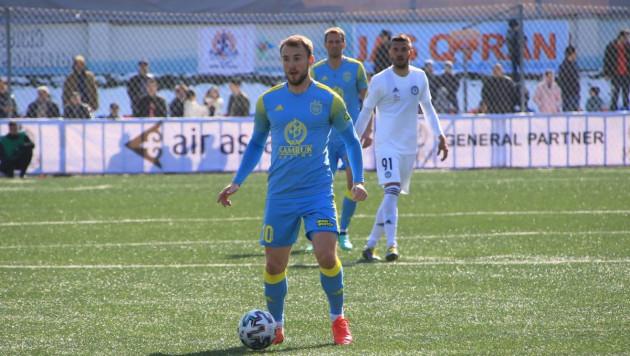 """""""Астана"""" пропустила от бывшего игрока и потеряла первые очки в сезоне"""