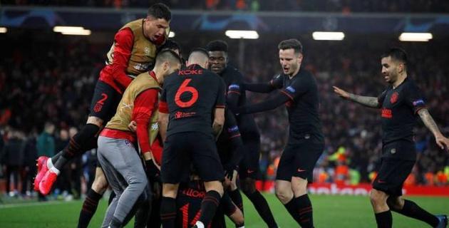 """""""Атлетико"""" сделал камбэк с 0:2 в дополнительное время и выбил действующего победителя из Лиги чемпионов"""