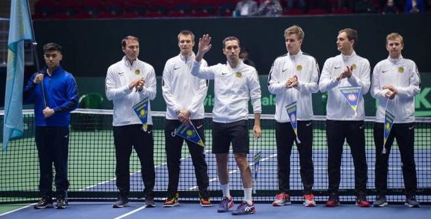 Казахстан узнал соперников по финальной стадии Кубка Дэвиса