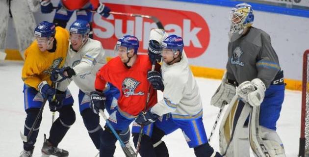 """""""Барыс"""" провел открытую тренировку перед вторым раундом плей-офф КХЛ"""