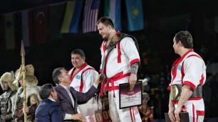"""Чемпион """"Алем Барысы"""" из России попался на допинге и лишился 10 миллионов призовых"""