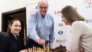 Казахстанка Абдумалик сенсационно вошла в тройку на турнире с шестью чемпионками мира
