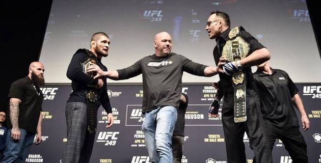 В UFC сделали заявление по бою Хабиба и Фергюсона