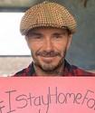 """""""Остаюсь дома ради семьи и детей"""". Дэвид Бекхэм поддержал челлендж"""