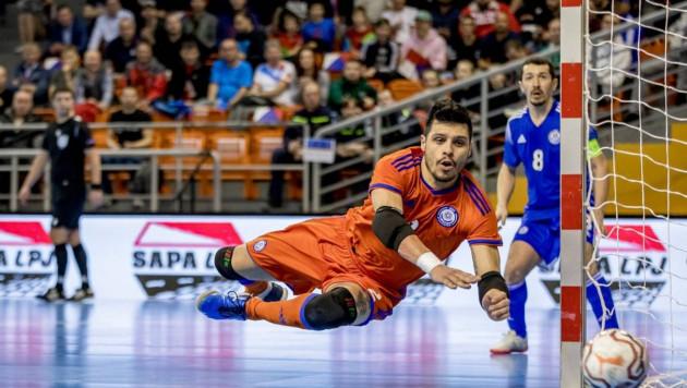 Игрок сборной Казахстана по футзалу в четвертый раз признан лучшим в мире