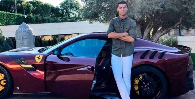 Автопарк Роналду пополнился лимитированным спорткаром за 9,5 миллиона евро