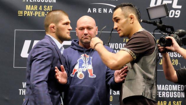 """""""Каждый раз мои планы рушатся"""". Глава UFC заявил о намерении не отменять бой Хабиба и Фергюсона"""
