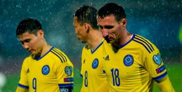 Исламхан и Шомко могли в марте догнать Лорию по количеству игр за сборную Казахстана