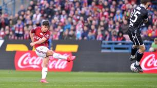 Казахстанец во второй раз подряд признан лучшим футболистом месяца в европейском клубе