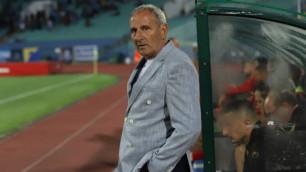 Работавший в Казахстане европейский тренер остался без работы и объяснил свое увольнение