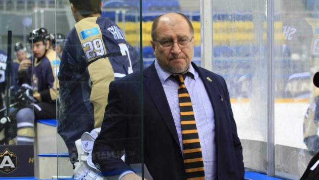 Главный тренер и хоккеист с 497 матчами в КХЛ покинули казахстанский клуб
