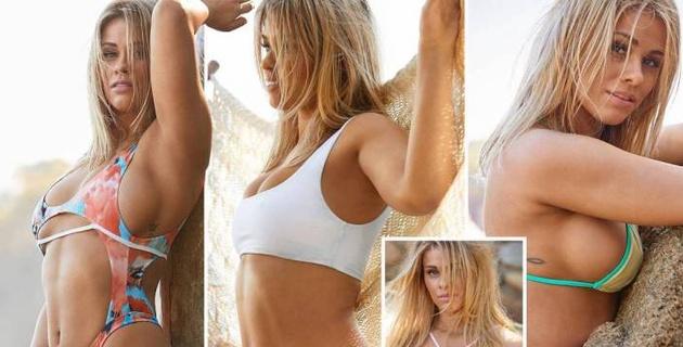 Красотка из UFC показала серию голых фотографий