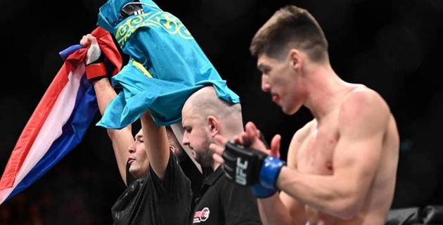 Казахский боец из UFC вступился за Хабиба