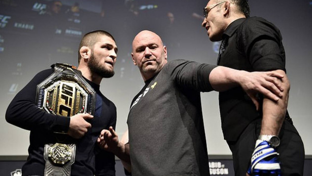 """Дана Уайт назвал """"виновного"""" в срыве боя Хабиба против Фергюсона и место для турнира UFC 249"""