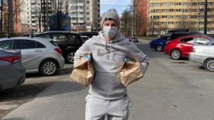 Аршавин стал доставщиком продуктов