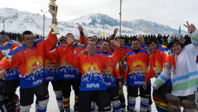 Клуб из Бишкека хочет вступить в чемпионат Казахстана по хоккею