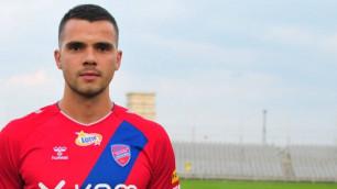 Легионера участника еврокубков от Казахстана назвали одним из худших игроков европейского клуба