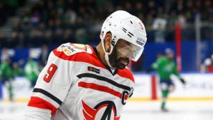 Клуб КХЛ решил судьбу хоккеиста сборной Казахстана Доуса