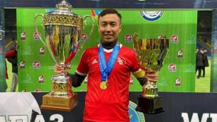 Владелец казахстанского клуба заявил себя в качестве футболиста на сезон