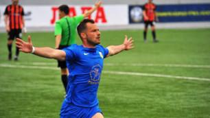 Казахстанский клуб вернул в состав легионера из Европы