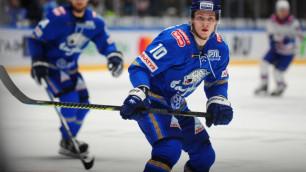 Российские СМИ предрекли казахстанцу Михайлису переезд в российский топ-клуб и трансфер в НХЛ