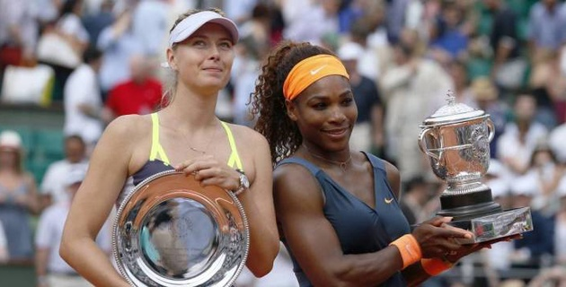 Мария Шарапова и Серена Уильямс сыграют на благотворительном онлайн-турнире
