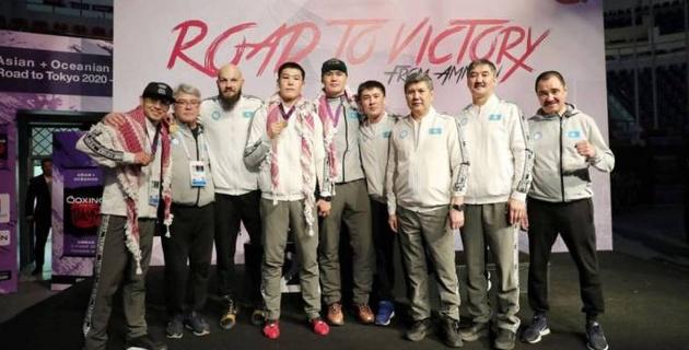 Боксеры сборной Казахстана сняли ролик благодарности борцам с пандемией коронавируса