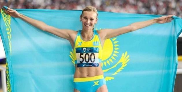 Ольга Рыпакова провела разминку и дала старт онлайн-забегу
