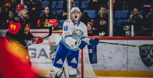 """В """"Барысе"""" нашли самого талантливого казахстанского хоккеиста нового поколения"""