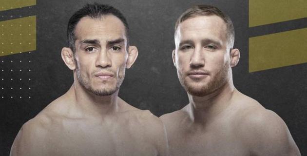 Стали известны результаты взвешивания Фергюсона и Гэтжи перед главным боем UFC 249