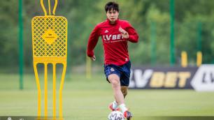 Главный тренер европейского клуба рассказал о состоянии казахстанца Жукова перед возобновлением чемпионата