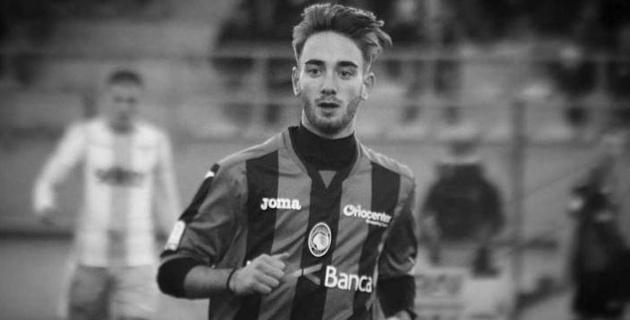 Итальянский футболист умер в 19 лет
