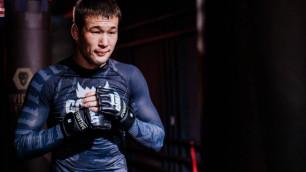 Казахстанский боец получил первый гонорар от UFC и рассказал о допинг-проверке