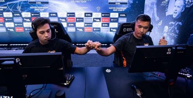 Команда Virtus.pro с казахстанцами вышла в 1/2 финала отбора на турнир с двумя миллионами долларов призовых