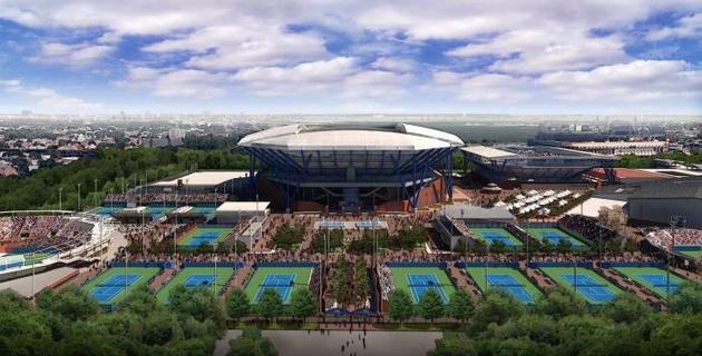 Арена US Open прекратила работу в качестве временной больницы