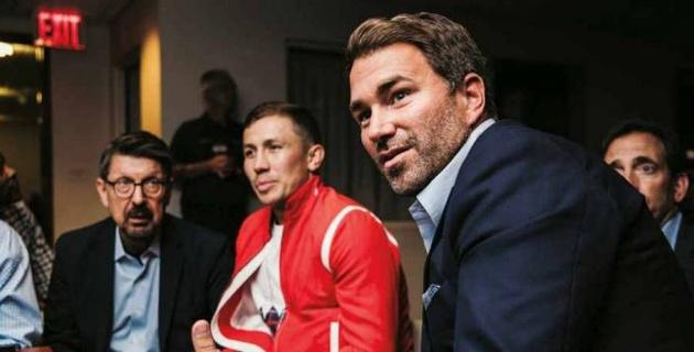 """""""У нас подписан контракт"""". Хирн объяснил выбор Головкина и ситуацию с третьим боем против """"Канело"""""""